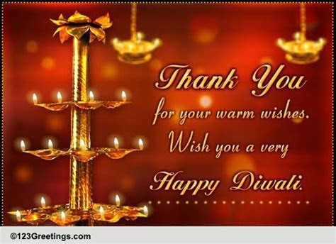 Special Diwali Thanks! Free Thank You eCards, Greeting