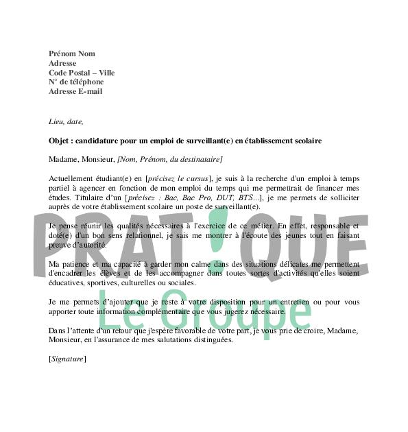 Lettre De Motivation Veilleur De Nuit Hotellerie - House MY d