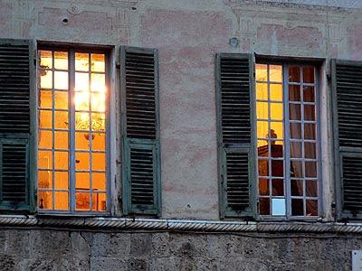 fenêtrees à Sospel