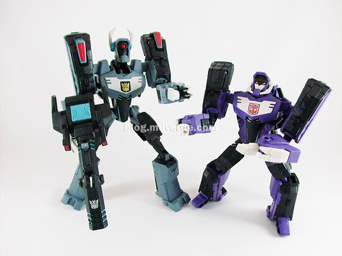 Transformers Shockwave Animated Voyager vs Longarm - modo robot