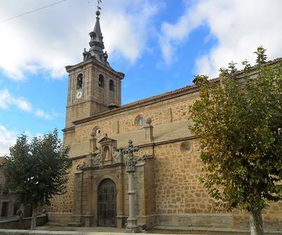 Resultado de imagen de Cuerva Iglesia Parroquial de Santiago Apóstol