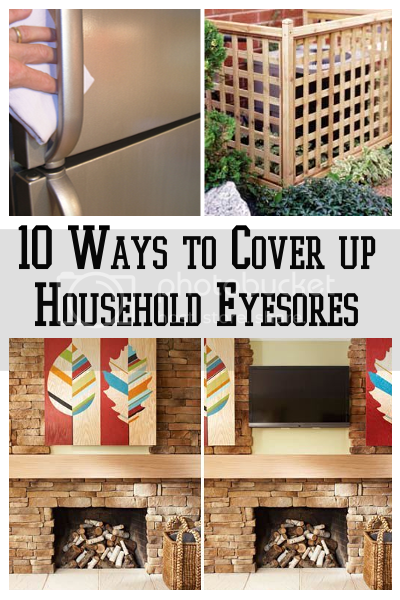Diy Home Sweet Home 10 Ways To Cover Up Those Household