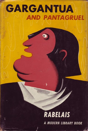 E. McKnight Kauffer cover for Rabelais Gargantua and Pantagruel, Modern Library