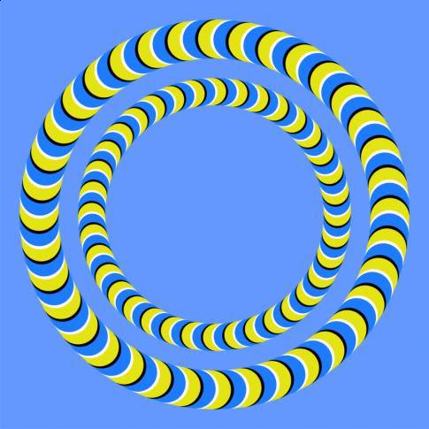 Spinning  Spiral Circle