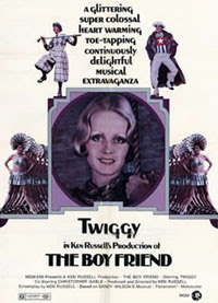 Movie poster for The Boy Friend starring Twiggy.