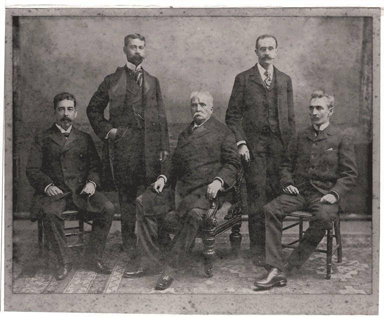Comision a Washington 1898
