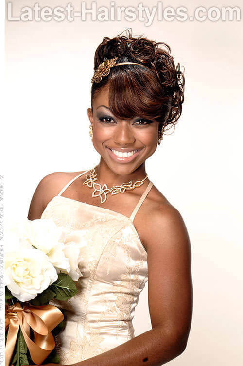 11 African  American  Wedding  Hairstyles  For The Bride Her