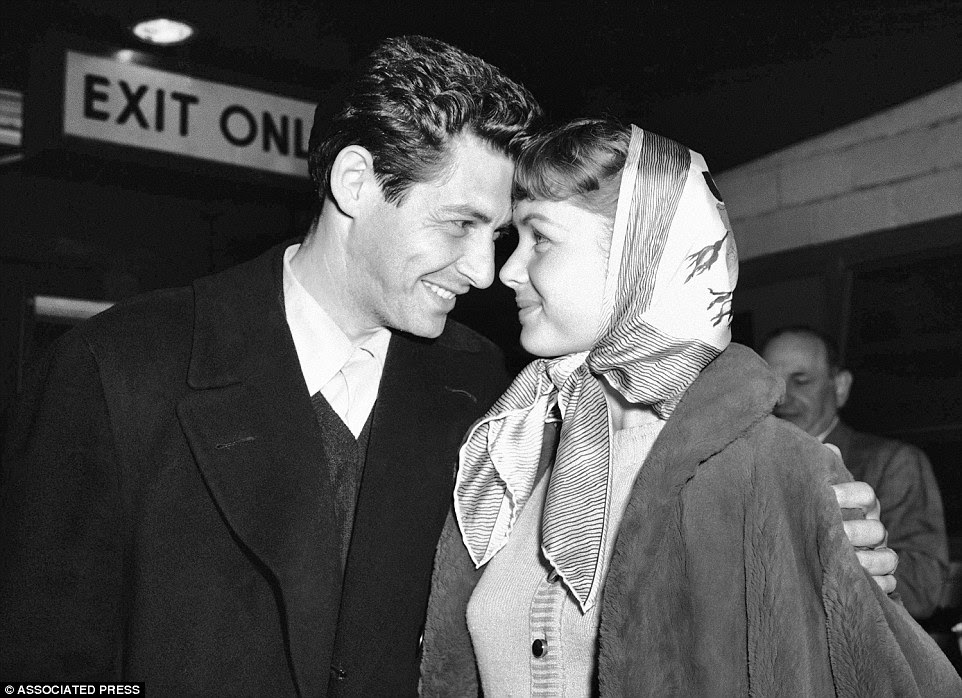 Reynolds married Eddie Fisher in 1955. The pair were celebrated as America's sweethearts and held unrivaled Hollywood pedigree
