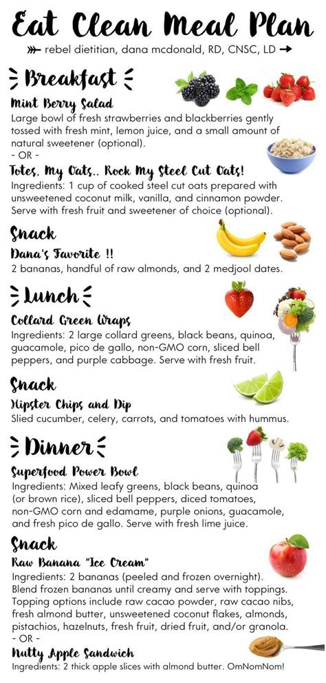 meal planning meal plans tips clean eating meal plan