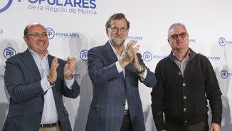 Mariano Rajoy a la junta directiva del PP de Múrcia (EFE)