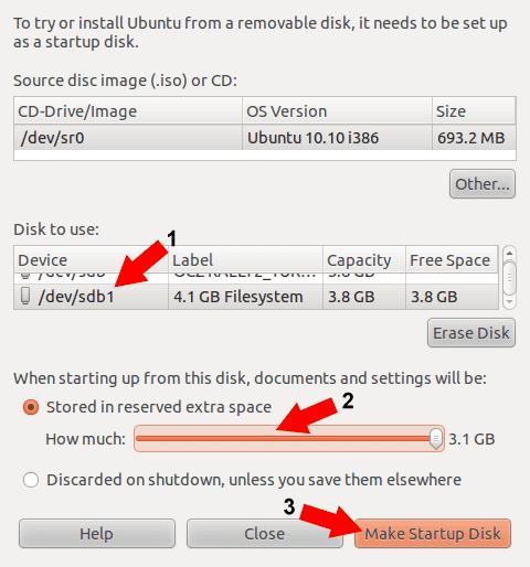 Proceed to Make an Ubuntu Startup Disk