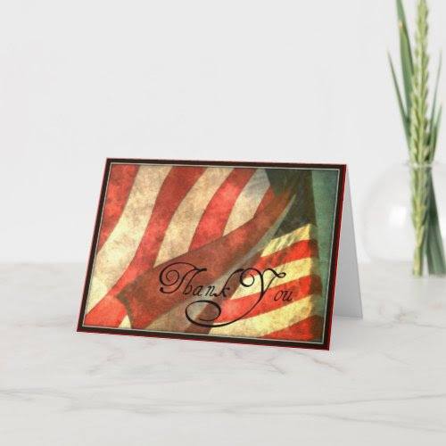 Veterans Day, Thank You Military Greeting Card card