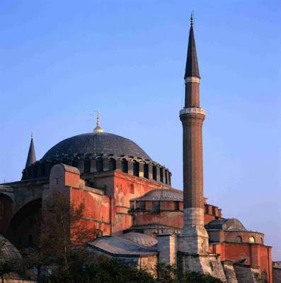 View of Hagia Sofia, Istanbul