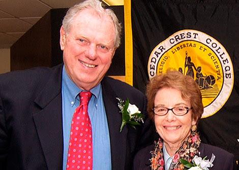 El matrimonio, en una imagen del Cedar Crest College.