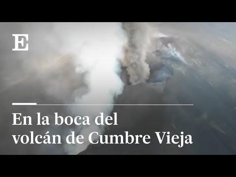 Vídeo: El volcán de La Palma una lengua de lava que llegará al mar