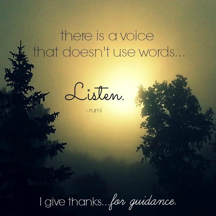 {gratitude) day 19...guidance