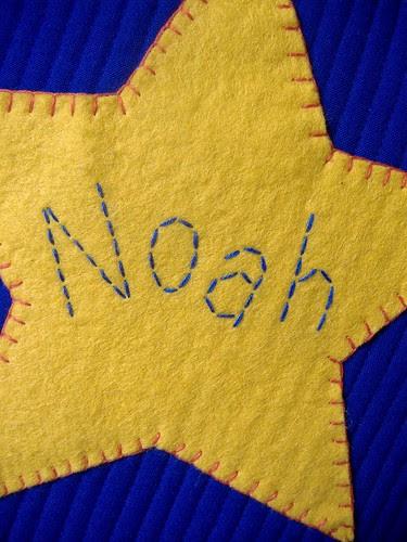 noah cushion - closeup
