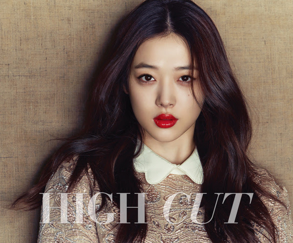f(x) Sulli - High Cut Magazine Vol.146