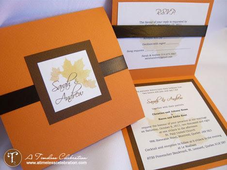 Simple DIY Wedding Invitations WeddingDecorations