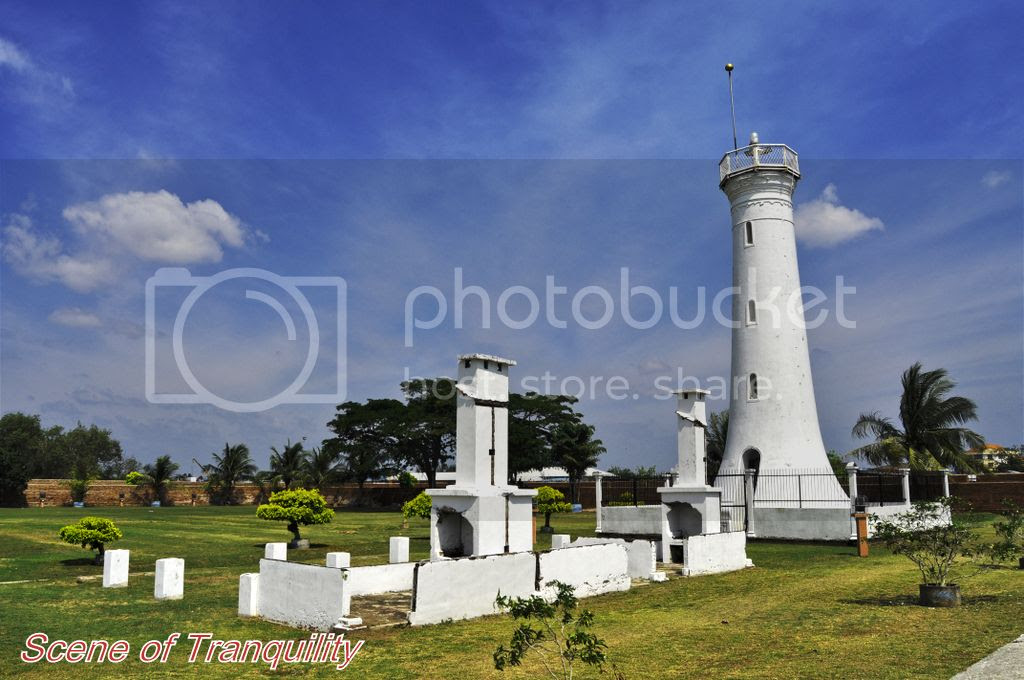 Lighthouse and Chimney pots