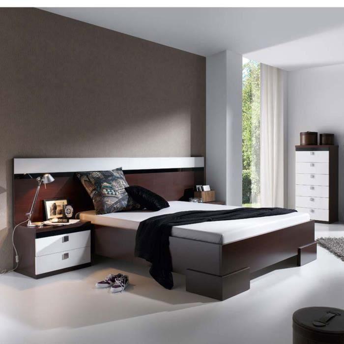 Meubles chambre à coucher design Lilou ATYLIA Matière ...