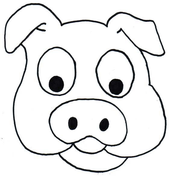 Cartoon Pig Head - Cliparts.co
