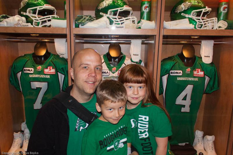 A Roughrider family