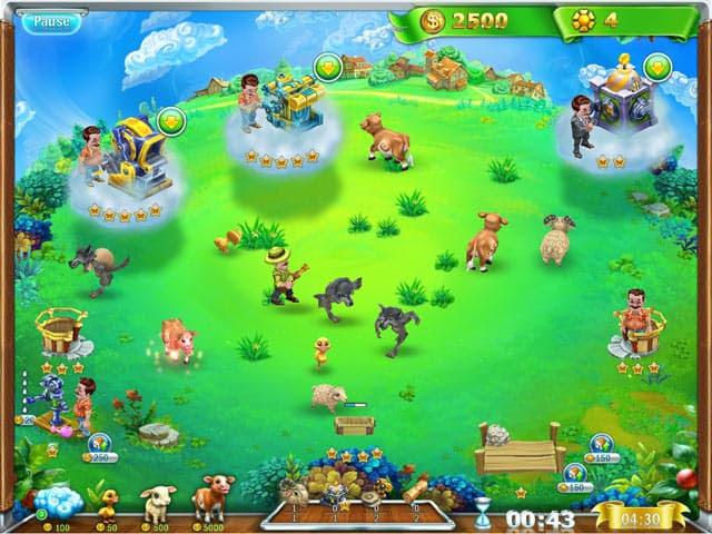 Snow Globe: Farm World Free PC Game Screenshot