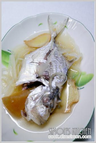 醬冬瓜煮瓜仔魚09