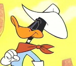 Daffy Duck, as seen in the episode of the Duck...