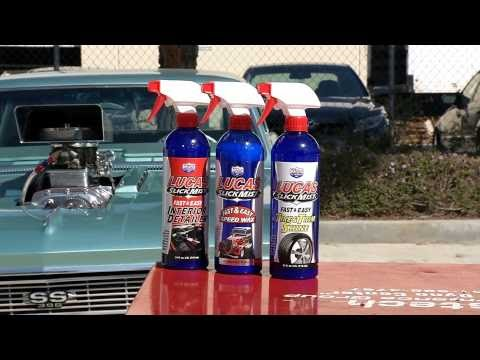 Lucas Oil Slick Mist Products Spot Extremely Clean Detail