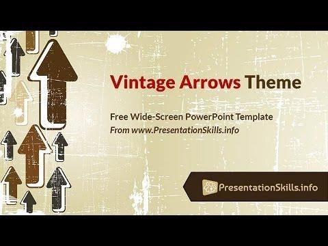 Retro Powerpoint Template Free