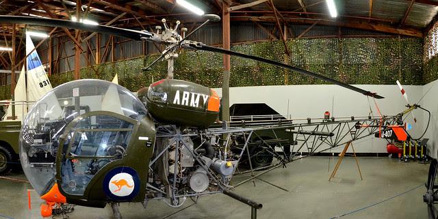 Bell 47G-3BI-I Sioux AI-407 A