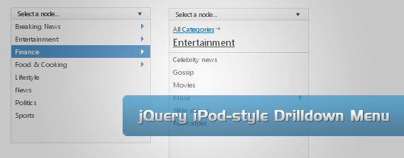 ipod-drop-down-multi-level-menu-navigation