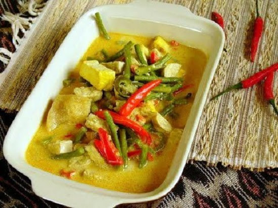 Cara Membuat Resep Makanan Khas Indonesia Sayur Lodeh Cabe ...