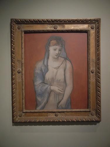 DSCN7920 _ Woman with Blue Veil, 1923, Pablo Picasso (1881-1973), LACMA