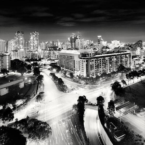 228 Черно белая красота больших городов