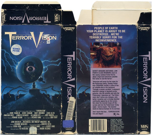 Terror Vision (VHS box cover)