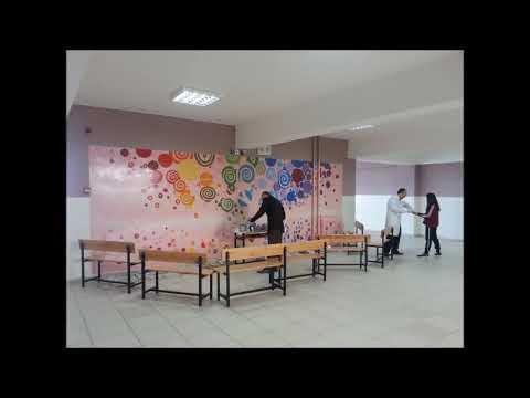 Okul Duvarı Boyama örnekleri