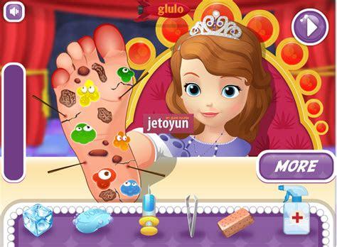 prenses sofia ayak ameliyati oyunu oyna ameliyat oyunlari