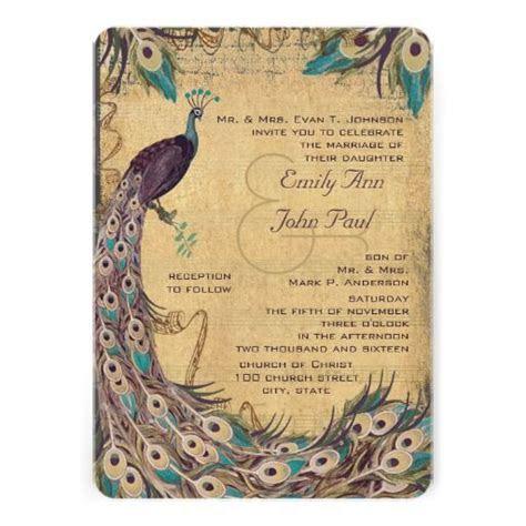 Best 25  Peacock wedding invitations ideas on Pinterest
