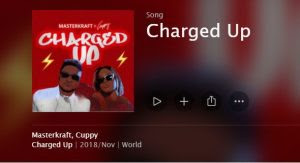 Download Music Mp3:- Masterkraft Ft DJ Cuppy – Charged Up