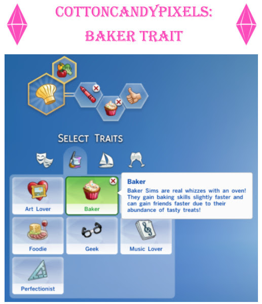 http://cottoncandypixels.tumblr.com/post/117310926104/my-first-custom-trait-introducing-the-baker-trait