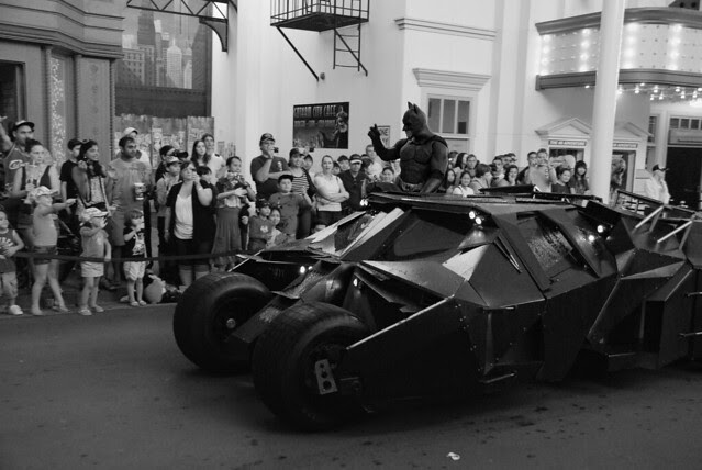 The Batman and the Batmobile