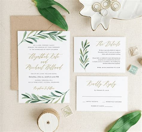 Tips Easy To Create Wedding Invitations Near Me Designs