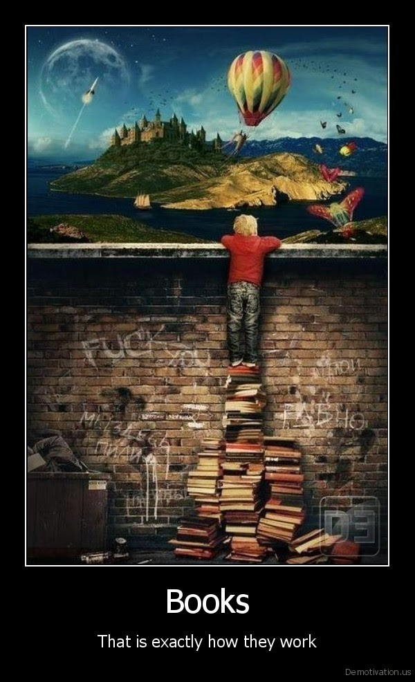 Books - That is exactly how they work