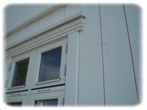 Omramming vindu utvendig