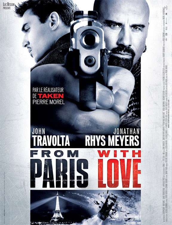FROM PARIS WITH LOVE poster [click to enlarge]