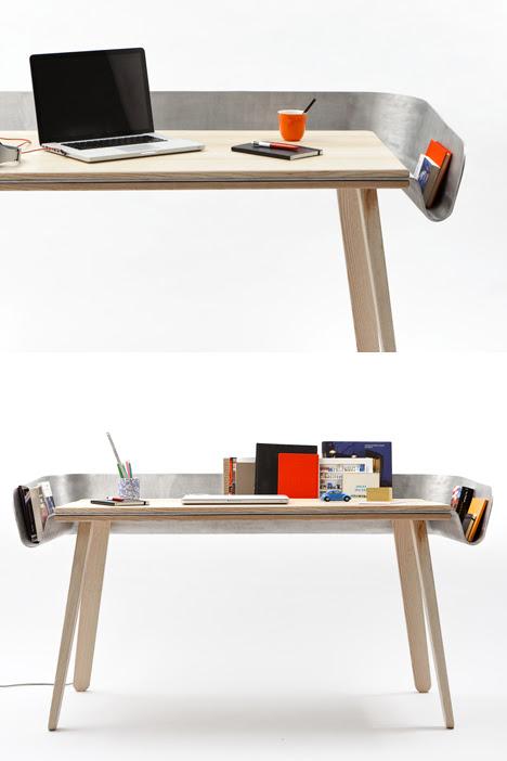 Tomas Kral\u002639;s Homework Desk: Drawerless, with Drainage  Core77