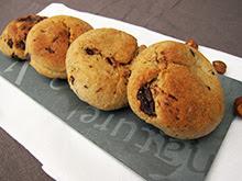Cookies chocolat-noisettes à la purée de cacahuète